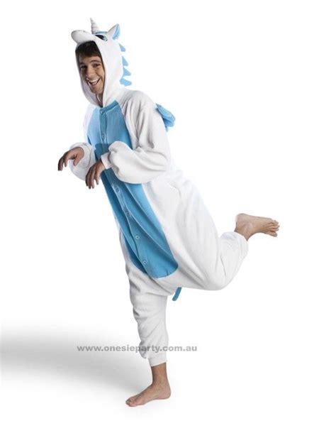 unicorn pattern onesie adult onesie blue unicorn kigurumi costume free