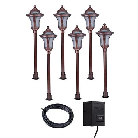Landscape Lighting Low Voltage Kits Enlarged Image