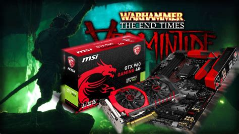 Vermintide Giveaway - warhammer vermintide giveaway part2 with msi nvidia youtube