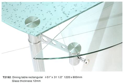 Metal Dining Table W Glass Top Ol Dt17 Metal Dining Set W Glass Top Ol Dt92s