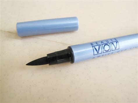 Eyeliner Vov vov artist eye liner look review swatch