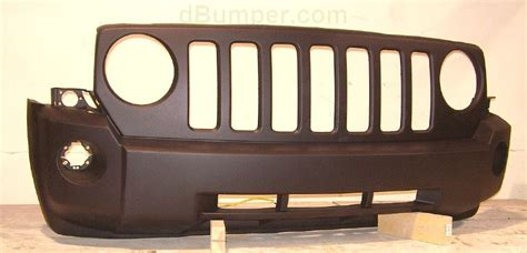 Jeep Patriot Tow Hooks 2007 2010 Jeep Patriot W O Bright W O Tow Hooks Front