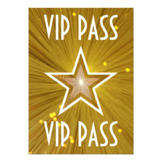 vip pass template vip pass invitations 356 vip pass invites announcements