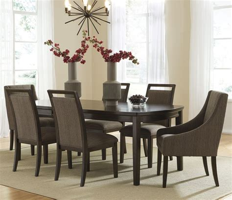Dining Room Tables Grand Rapids Mi Signature Design By Lanquist 7 Table Set