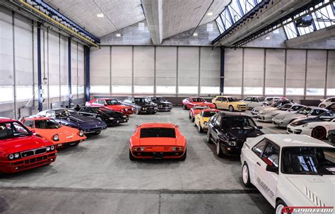 Garage Of Cars by A Peak Inside A Garage Packed With 1100 Sports Luxury And