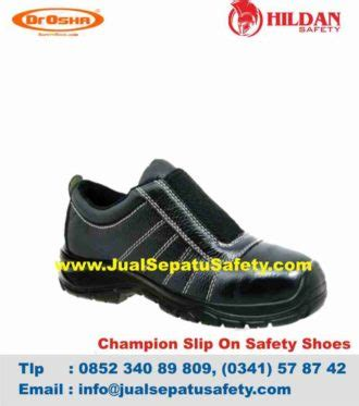 Sepatu Safety Dr Osha supplier dr osha chion slip on termurah jual safety