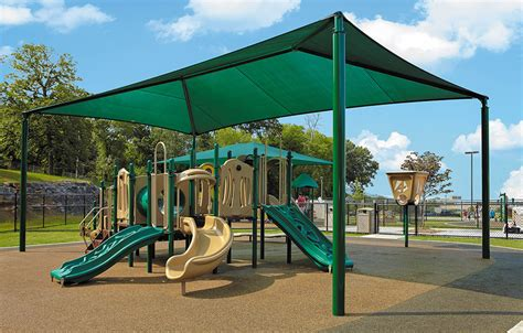 Fabric Shades   Commercial Shade Structures   APC SHELTERS