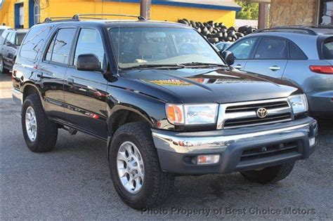 2000 used toyota 4runner 4dr manual 4wd at best choice motors serving tulsa ok iid 13899915