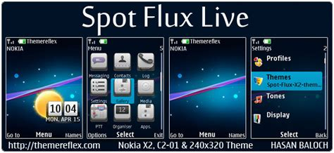 nokia 206 one piece themes spot flux live theme for nokia x2 00 c2 01 x2 05 2700