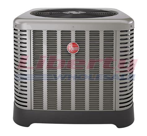central air conditioner compressor capacitor rheem ra1360aj1na 5 ton 13 seer 410 refrigerant central air conditioner condenser