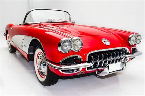 classic cars corvette 1959 chevrolet corvette stunning show car american