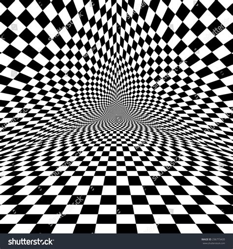 optical pattern vector black white optical illusion triangle vector stock vector