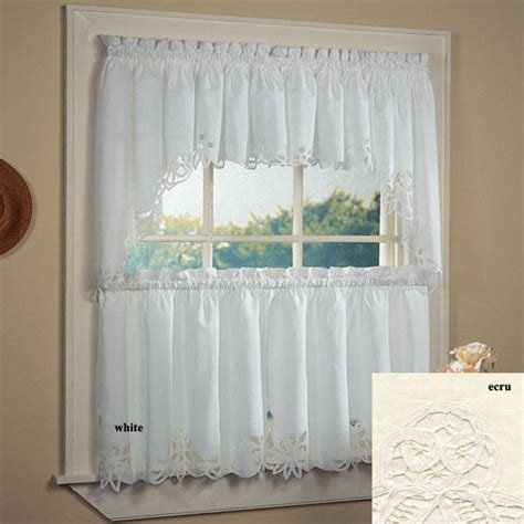 battenburg lace kitchen curtain ebay
