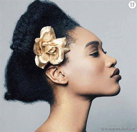 exemple de coiffure cheveux exemple coiffure cheveux afro votre nouveau 233 l 233 gant