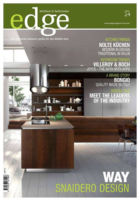 kitchen magazines california calam 233 o edge kitchens bathrooms magazine issue 24