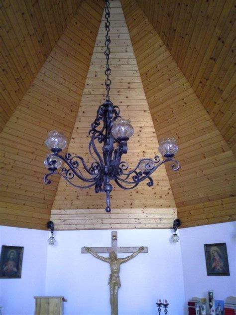 kronleuchter schmiedeeisen f 252 r kirchliche einrichtungen kunstschmiede hiebaum