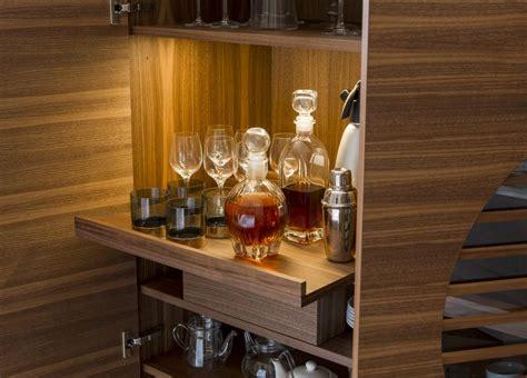 modern  bar cabinets drinks trolleys porada