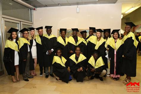 Of Haifa International Mba by Fully Funded Program Ma Students From Africa Learn In