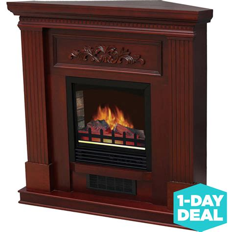 electric fireplace with 38 quot mantle cherry ebay