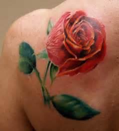 3d Rose Tattoos For Men 3d rose tattoo for men