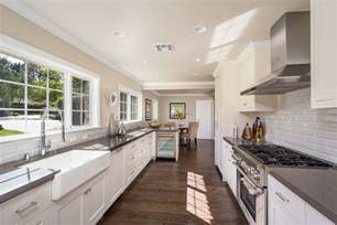 25 stylish galley kitchen designs designing idea white galley kitchen transitional kitchen turquoise la