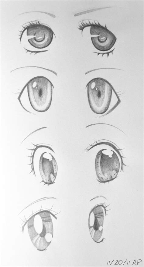 Anime Eyes II by AnhPho on DeviantArt