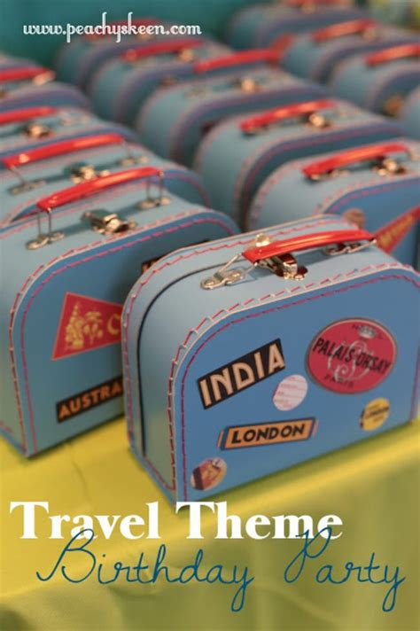 travel theme 21 fun travel themed birthday party ideas tip junkie