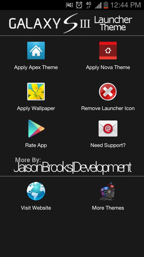themes galaxy s3 amazon com galaxy s3 launcher theme appstore for android