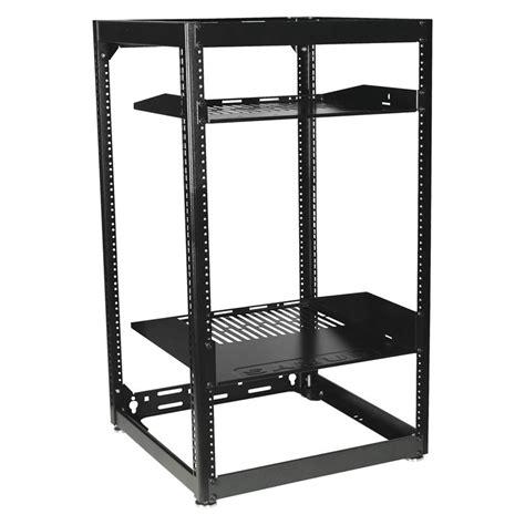 Rack 20u Sanus 20u Stackable Or Wall Mountable Skeleton Rack Black