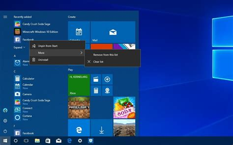 wallpaper windows central show us your windows 10 start menu and wallpaper