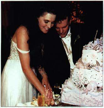 xena wedding cake lawless și garth lawless