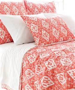 Duvet Cover Coral Ramala Coral Duvet Cover Transitional Duvet Covers And