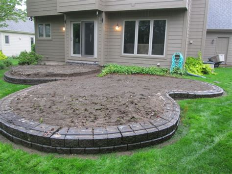 How To Build A Raised Paver Patio Brick Pavers Canton Plymouth Northville Arbor Patio Patios Repair Sealing