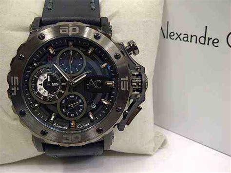 Alexandre Christie 9205 Garansi 2tahun jual alexandre christie ac 9205 black steel black leather