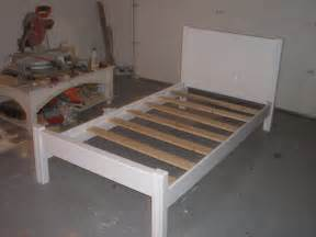 building a bed frame furniture u build
