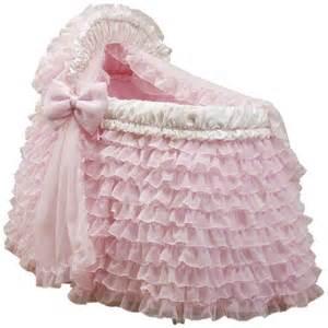 baby doll bedding ballerina bassinet set pink