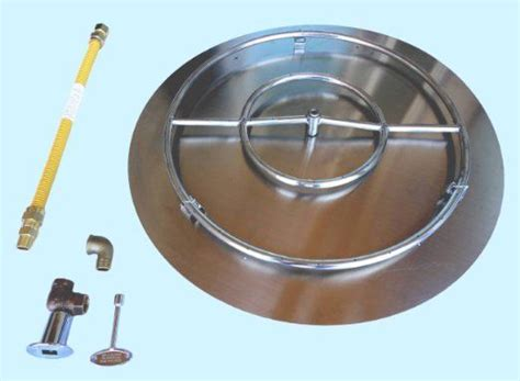 diy pit burner pan 1000 images about gas firepit on stainless steel pit gas pits and