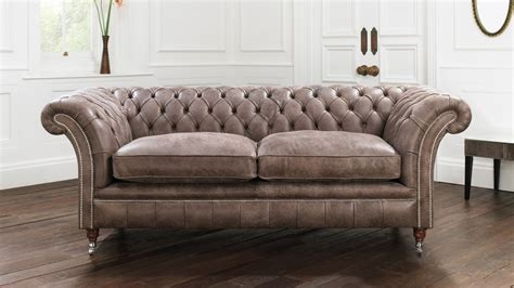 Loveseat And Chair by Looking For A Brown Chesterfield Sofa