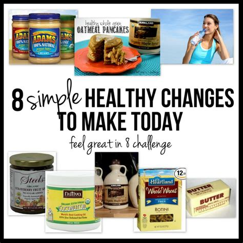 8 simple weeks to feeling great a health challenge for everyone books 8 simple healthy changes to make today feel great in 8