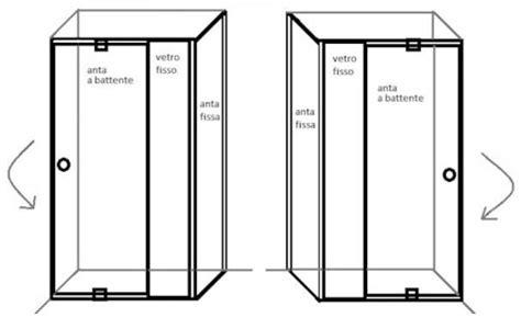 box doccia montaggio box doccia cristallo 6 mm porta a battente