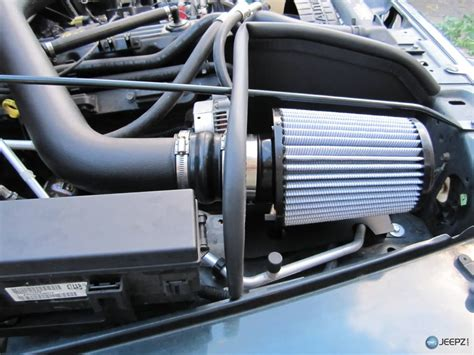 2008 Jeep Wrangler Cold Air Intake Install A Cold Air Intake On A Jeep Wrangler Tj