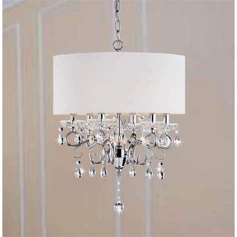How To Make A Chandelier L Shade by L Shades Home Depot Allured Chandelier Solid