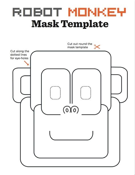robot template 10 best robot masks images on pinterest