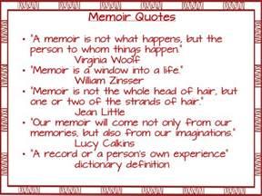 memoir quotes quotesgram
