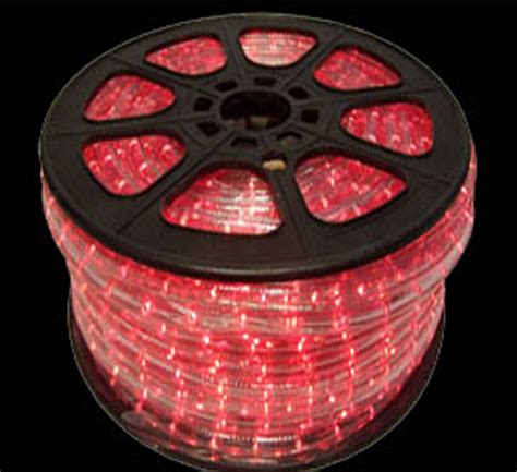 hop pink led rope lights150 foot spool led rope light spool
