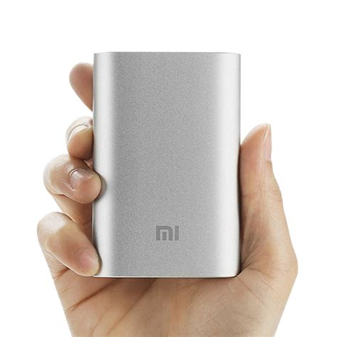 Xiaomi Mi Power Bank 10000mah Silver Original original xiaomi 10000mah power bank
