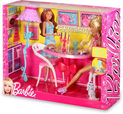 barbie dining room set barbie dollhouse furniture kitchen sets house design and
