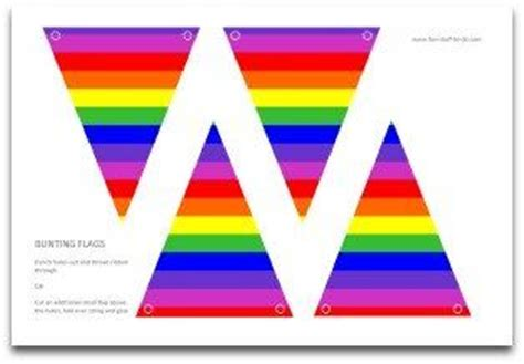 free printable rainbow banner 32 best images about rainbow art on pinterest bunting