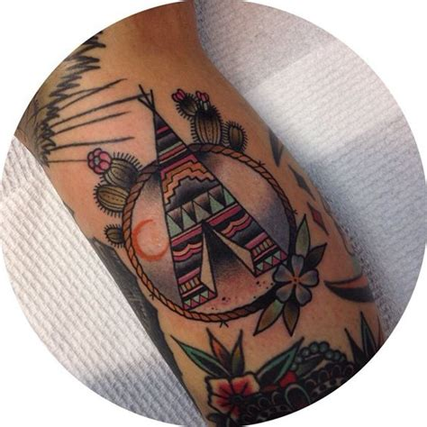 teepee tattoo american tattoos top 100 for the free spirited