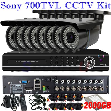 best quality sony ccd 700tvl zoom lens cctv surveillance